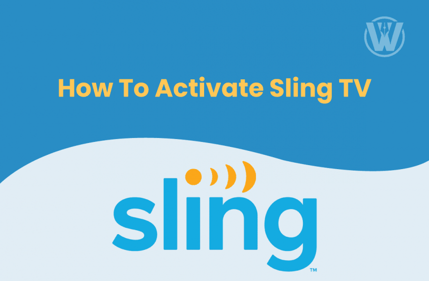 How To Activate Sling TV Using Sling.Com Activate?