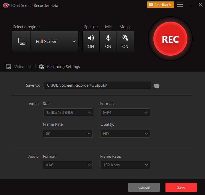 IObit Screen Recorder review