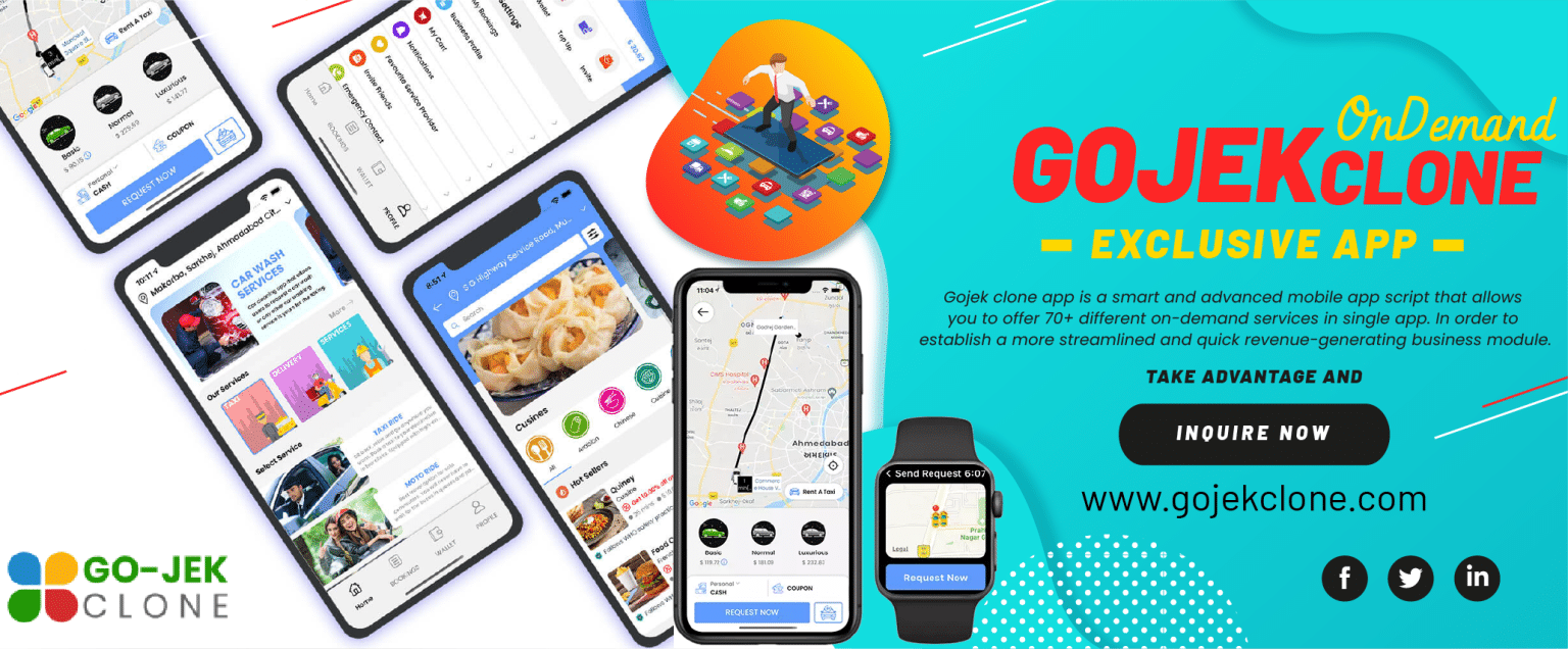 Why Gojek Clone Is The First Choice To Start A Multi Service Business?